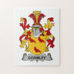 Escudo de la familia de Gormley Puzzle Con Fotos
