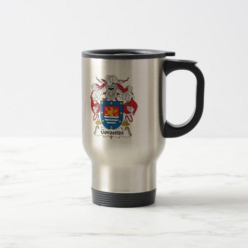 Escudo de la familia de Gorostidi Taza De Café