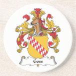 Escudo de la familia de Goss Posavaso Para Bebida