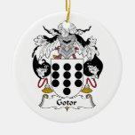 Escudo de la familia de Gotor Adorno Para Reyes
