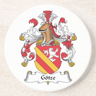 Escudo de la familia de Gotze Posavasos Para Bebidas