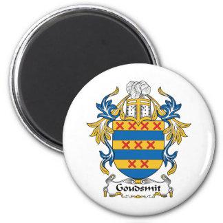 Escudo de la familia de Goudsmit Imanes De Nevera