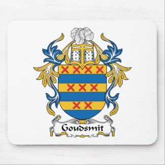 Escudo de la familia de Goudsmit Alfombrillas De Ratón