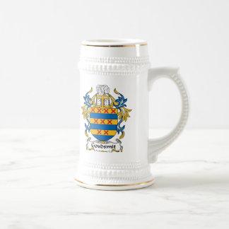 Escudo de la familia de Goudsmit Tazas De Café