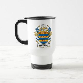 Escudo de la familia de Goudsmit Taza De Café