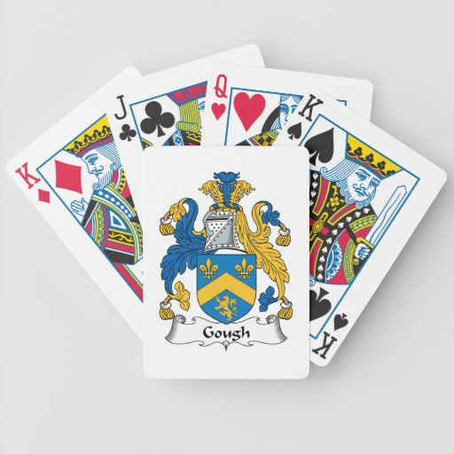 Escudo de la familia de Gough Baraja De Cartas