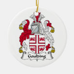 Escudo de la familia de Goulding Adorno