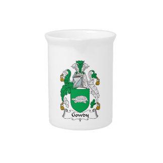Escudo de la familia de Gowdy Jarras