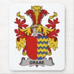 Escudo de la familia de Graae Tapetes De Ratón