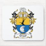 Escudo de la familia de Graaf Alfombrilla De Raton