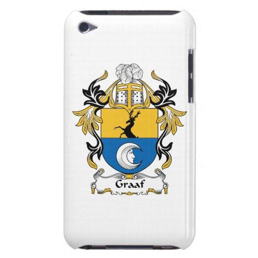 Escudo de la familia de Graaf iPod Case-Mate Carcasas