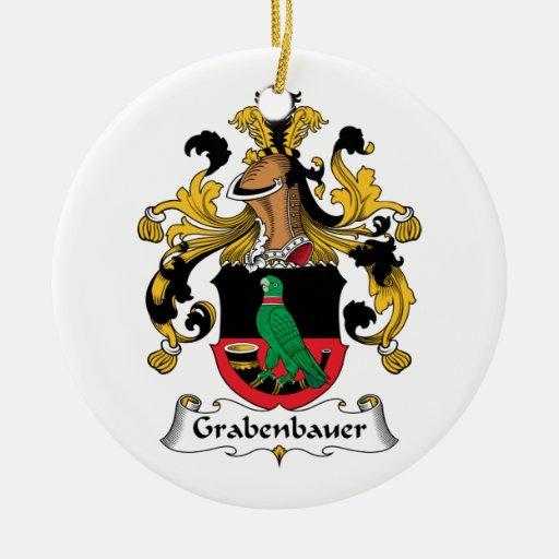 Escudo de la familia de Grabenbauer Ornamente De Reyes