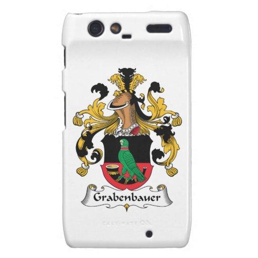Escudo de la familia de Grabenbauer Droid RAZR Fundas