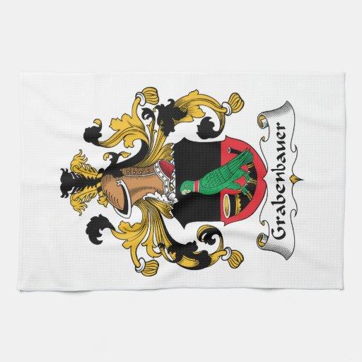Escudo de la familia de Grabenbauer Toalla