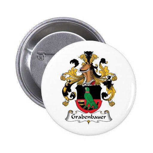 Escudo de la familia de Grabenbauer Pin