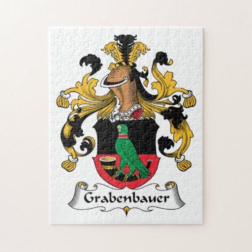 Escudo de la familia de Grabenbauer Rompecabeza
