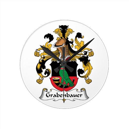 Escudo de la familia de Grabenbauer Reloj