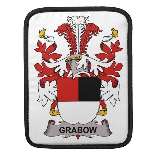 Escudo de la familia de Grabow Manga De iPad