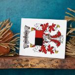 Escudo de la familia de Grabow Placas Con Foto