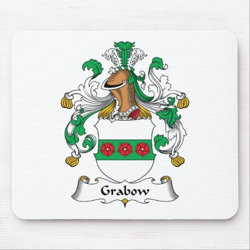 Escudo de la familia de Grabow Alfombrilla De Ratones