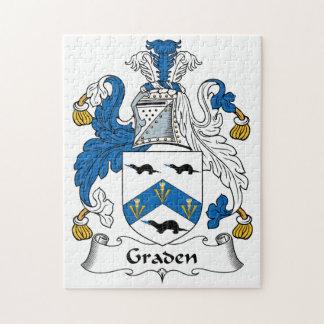 Escudo de la familia de Graden Puzzle
