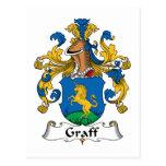 Escudo de la familia de Graff Postal