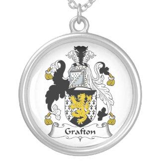 Escudo de la familia de Grafton Colgante Redondo