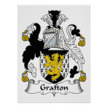 Escudo de la familia de Grafton Impresiones