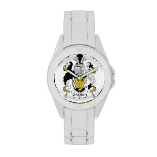 Escudo de la familia de Grafton Reloj