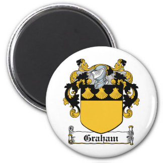 Escudo de la familia de Graham Imán De Nevera