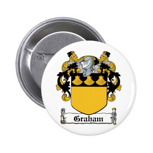 Escudo de la familia de Graham Pin Redondo 5 Cm