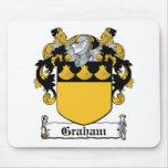 Escudo de la familia de Graham Tapete De Ratones