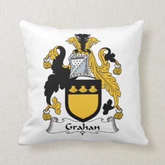 Escudo de la familia de Grahan Almohadas
