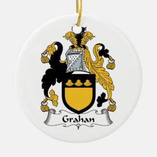 Escudo de la familia de Grahan Ornamentos De Reyes Magos