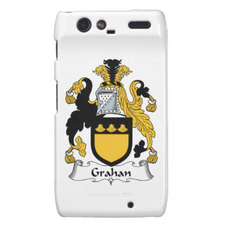 Escudo de la familia de Grahan Droid RAZR Fundas