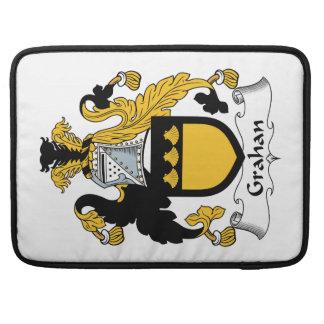 Escudo de la familia de Grahan Fundas Macbook Pro
