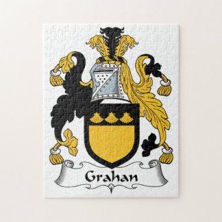Escudo de la familia de Grahan Rompecabeza