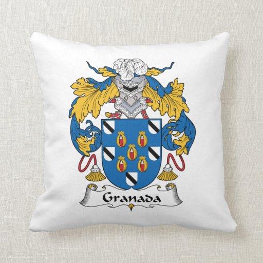 Escudo de la familia de Granada Almohada
