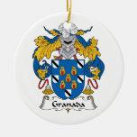 Escudo de la familia de Granada Ornamentos De Reyes