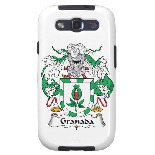 Escudo de la familia de Granada Galaxy S3 Protectores