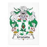 Escudo de la familia de Granada Invitación