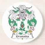 Escudo de la familia de Granada Posavaso Para Bebida