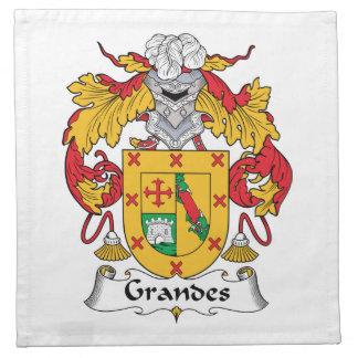 Escudo de la familia de Grandes Servilleta De Papel