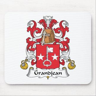 Escudo de la familia de Grandjean Tapete De Raton