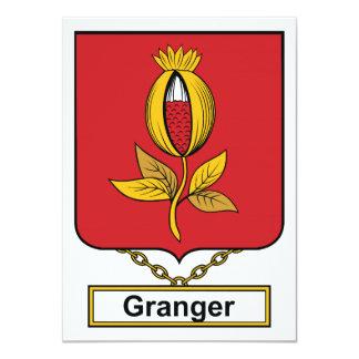 Escudo de la familia de Granger Comunicados Personalizados