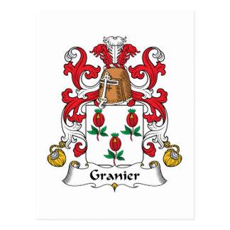 Escudo de la familia de Granier Postales