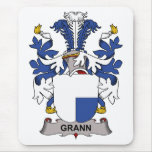 Escudo de la familia de Grann Alfombrillas De Raton