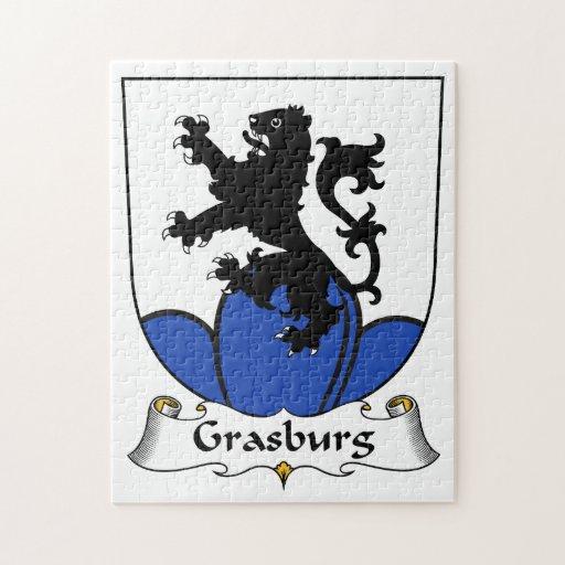 Escudo de la familia de Grasburg Puzzles