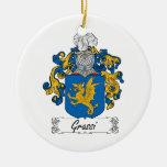 Escudo de la familia de Grassi Adorno Para Reyes