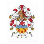 Escudo de la familia de Grawe Postal